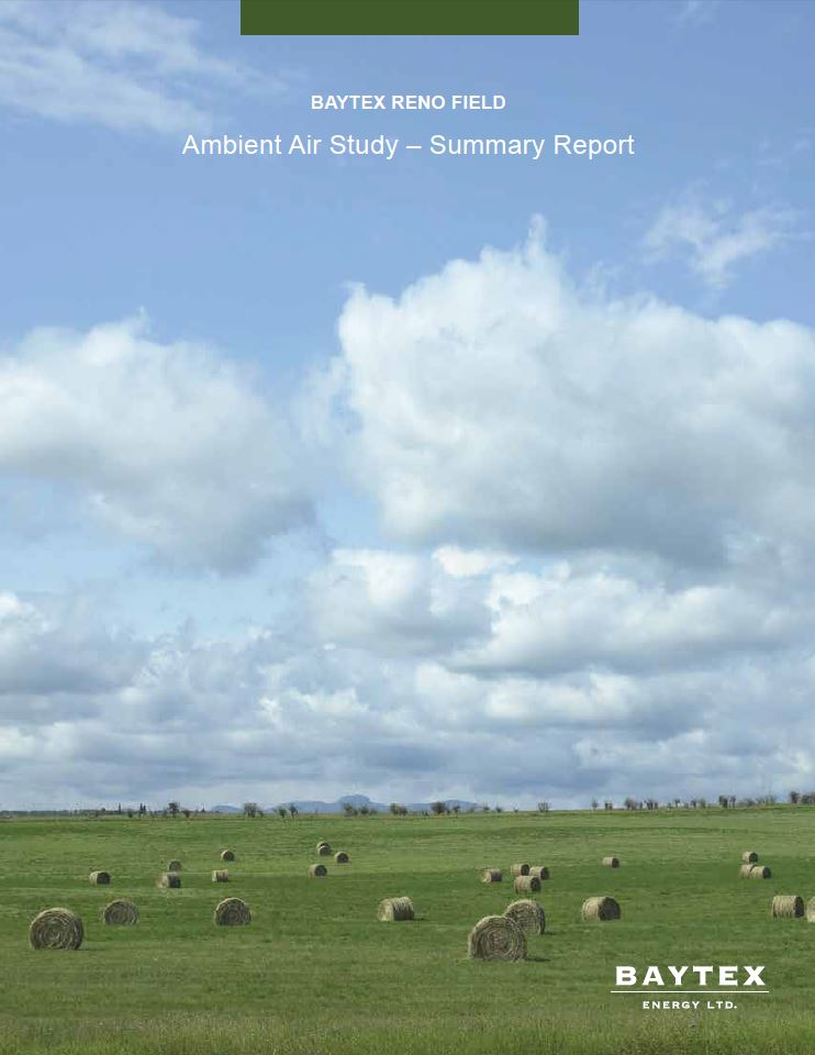 Ambient Air Study - Summary Report