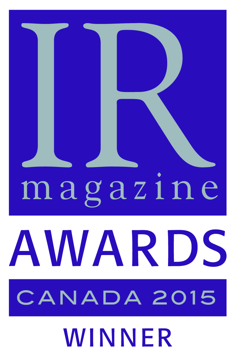 IR Award Winner