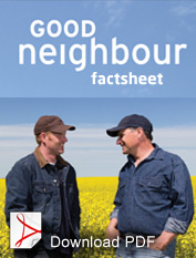Download the Good Neighbour Factsheet